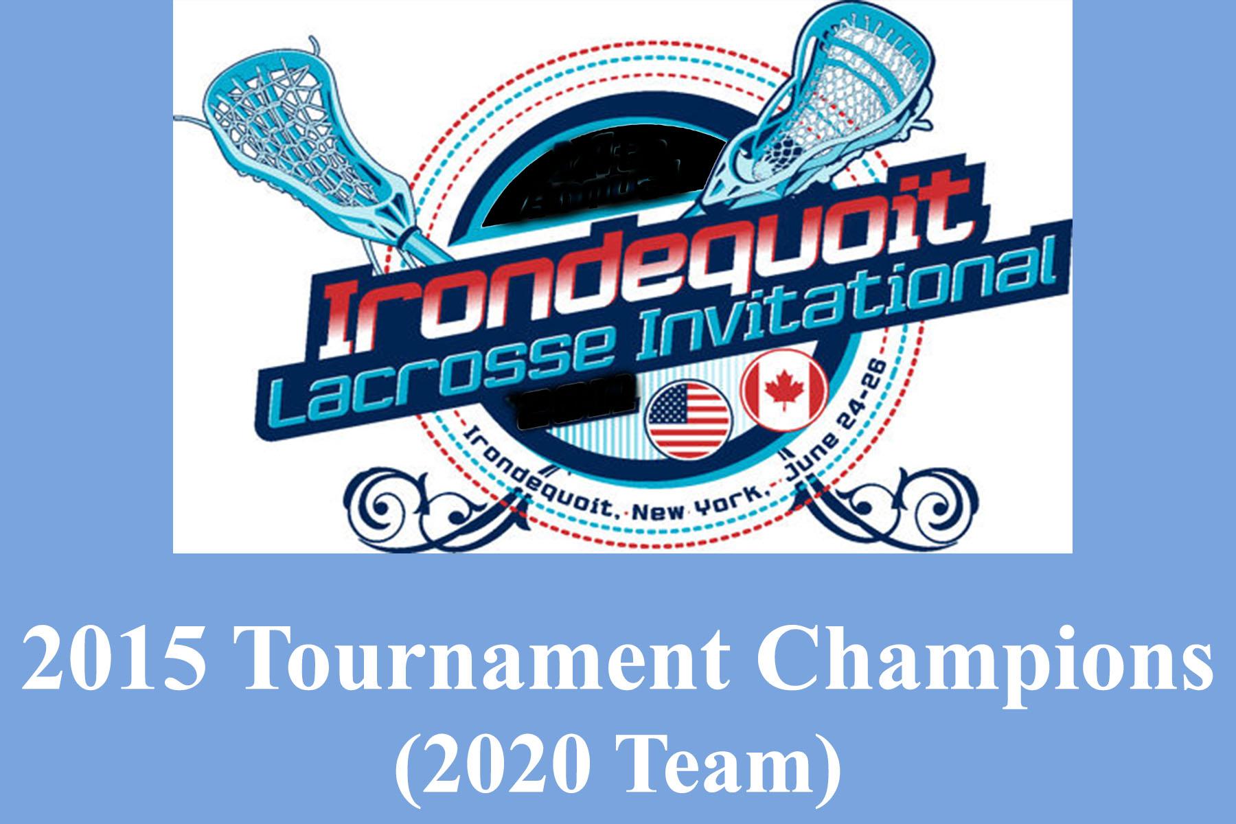 2015 Irondequoit champs