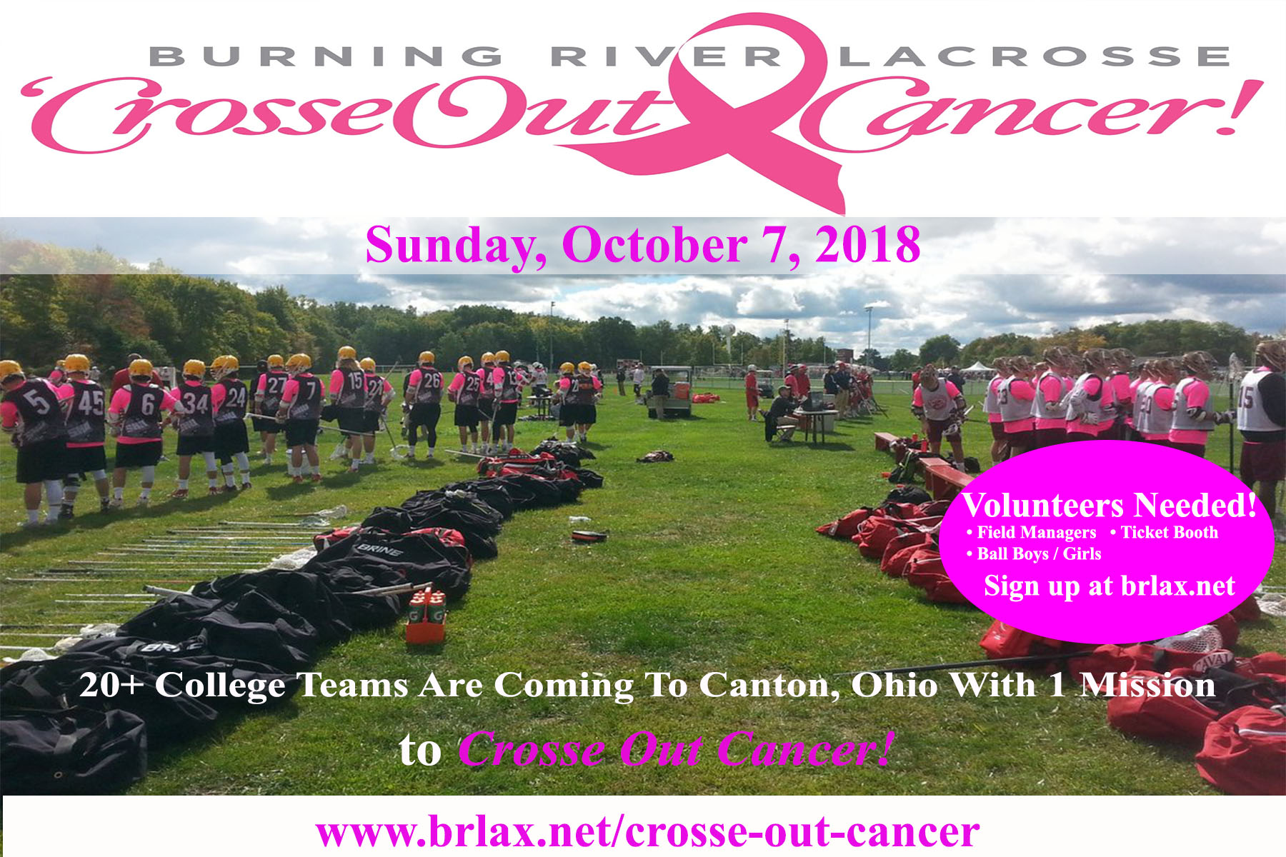 2018 Crosse Out Cancer 1