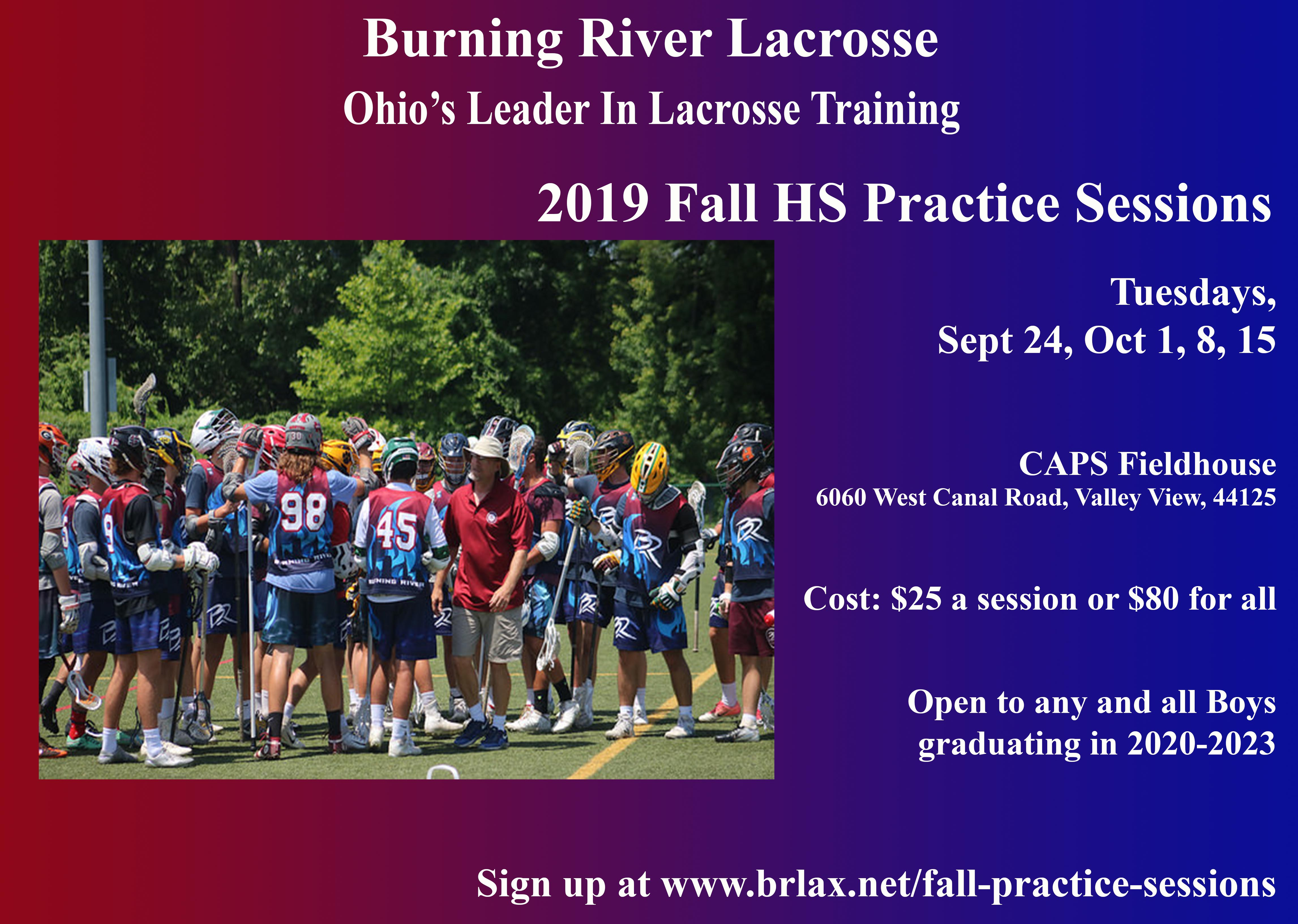 2019 Fall Practice Sessions