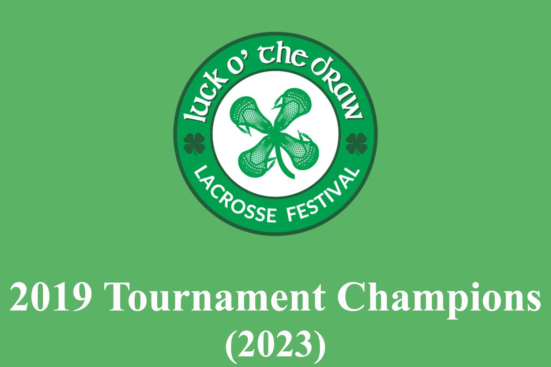 Luck Draw 2019 Champions 2023