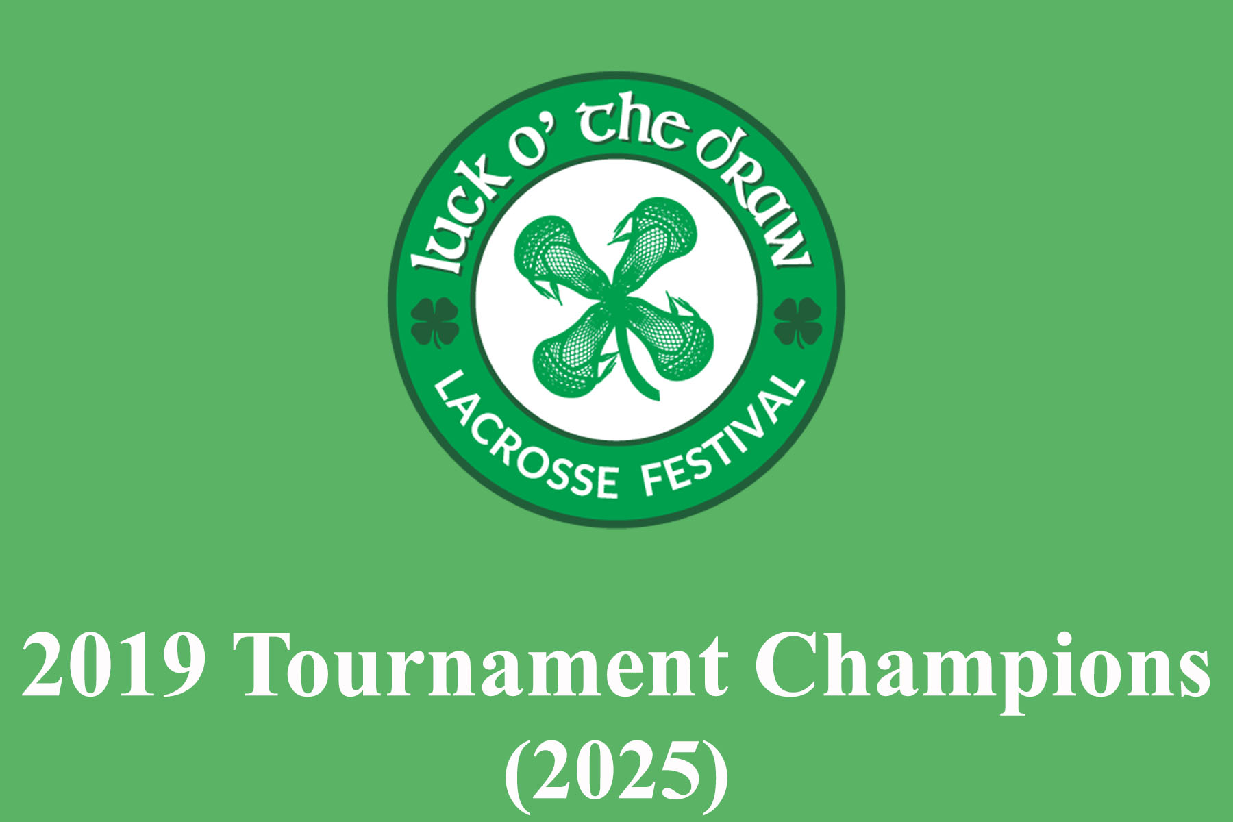 Luck Draw 2019 Champions 2025