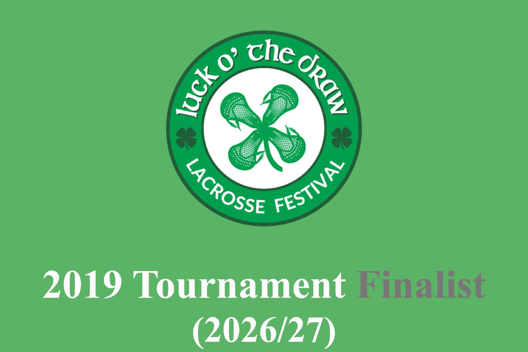 Luck Draw 2019 Finalist 2026