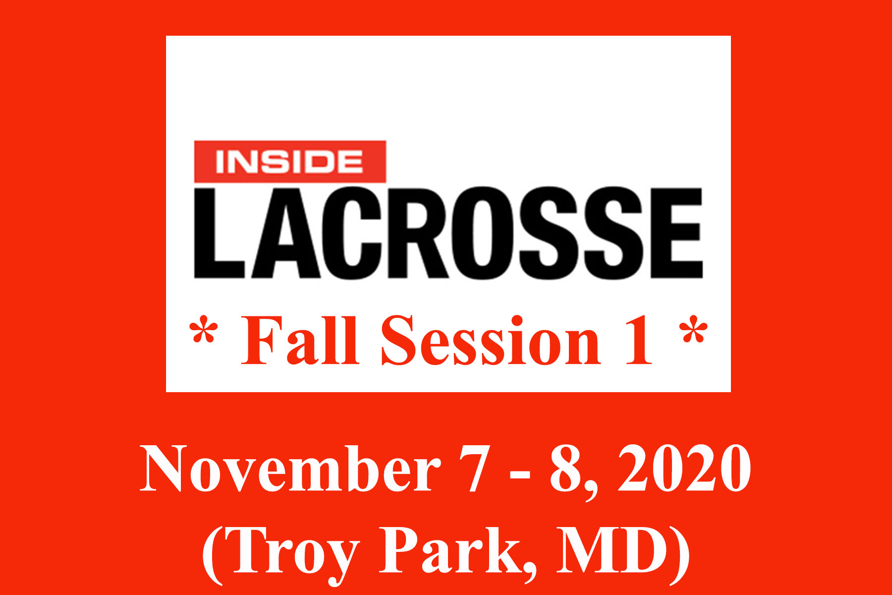 2021 Inside Lacrosse Button (Fall 1)