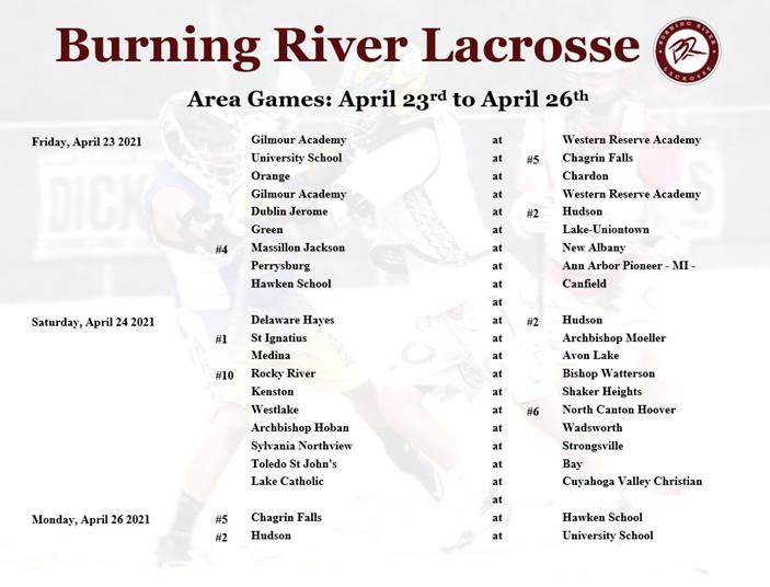 April 23 to April 26
