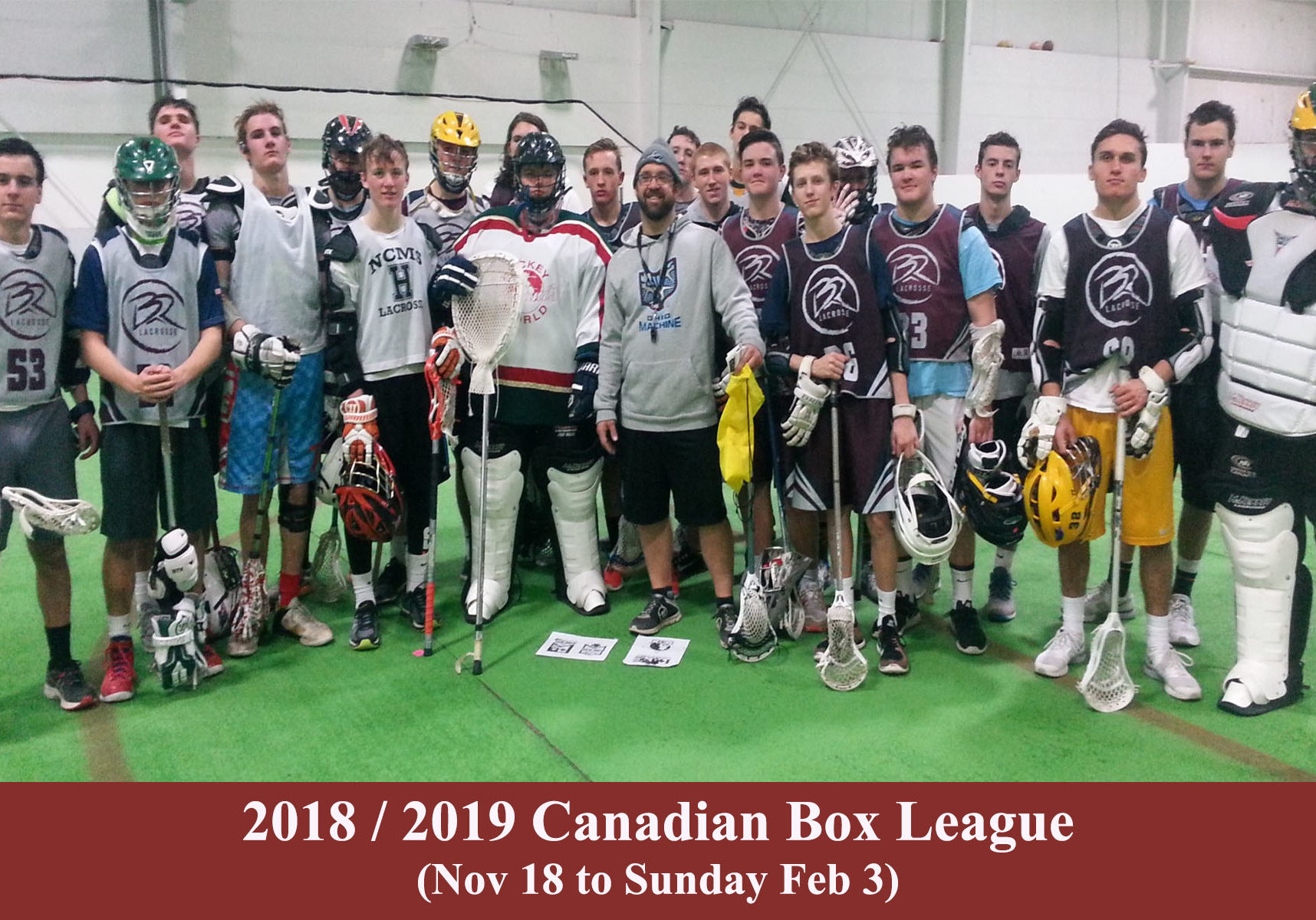 2018 2019 canadian box league header photo