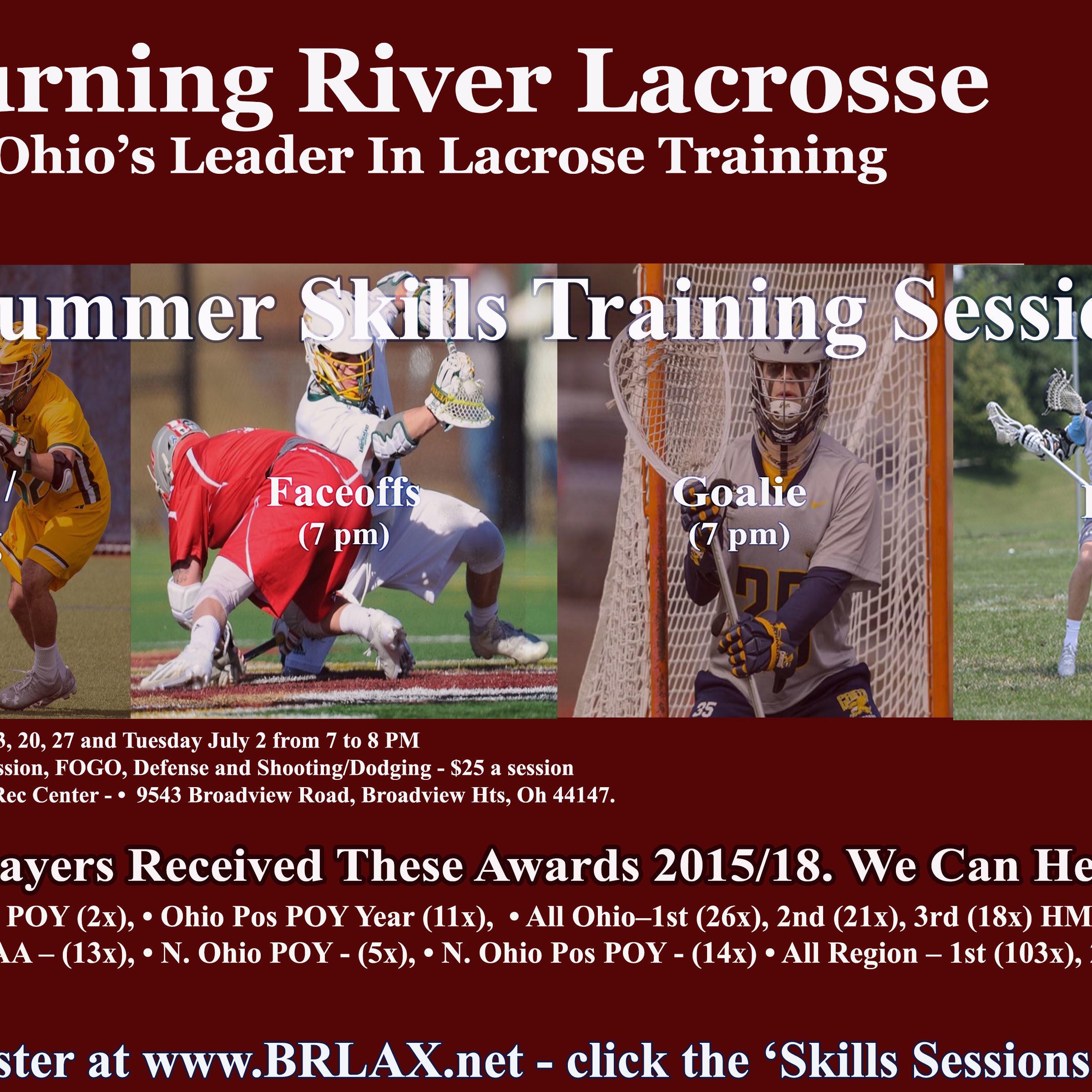 2019 summer skills sessions