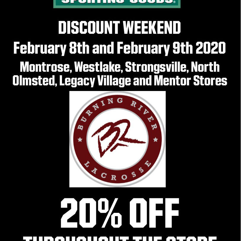 Burning River Lacrosse Shop Day 2020 New_